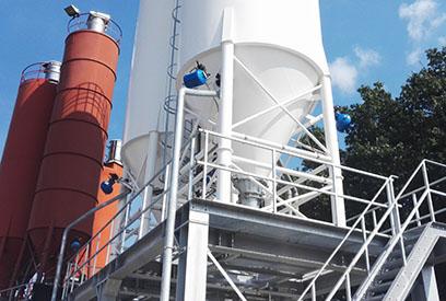 silo in cement plant