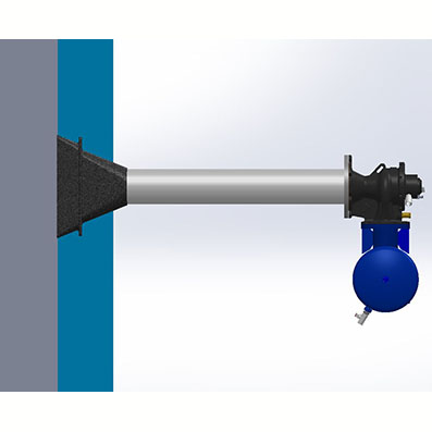 Deflettore airchoc